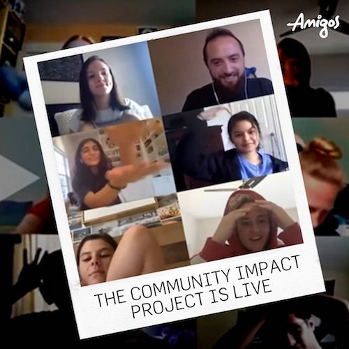AMIGOS Community Impact Project - summer & extracurricular activities for college