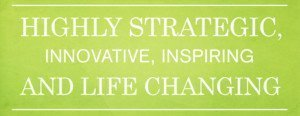 Blue Stars work is highly strategic, innovative, inspiring and life changing