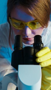 science research in a lab